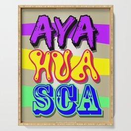 AYAHUASCA Serving Tray