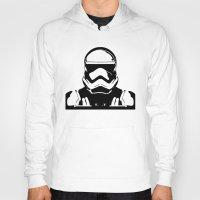 trooper Hoodies featuring Trooper  by Rabassa
