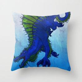 Spinosaurus aegyptiacus Throw Pillow