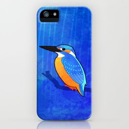 Common Kingfisher (Alcedo atthis) iPhone Case