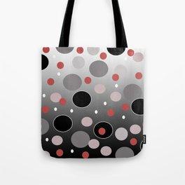 Polka Dotty: Gradients Tote Bag
