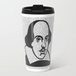 Words of Shakespeare Travel Mug