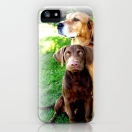Ain't Nothing But A Hound Dog iPhone Case