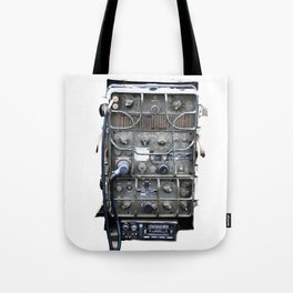 Vintage Military Radio  Tote Bag