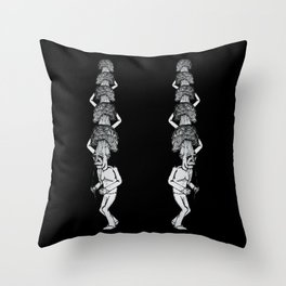 A Walk in the Park v3 Throw Pillow