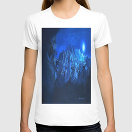 blue village T-shirt