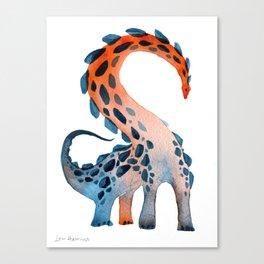 Studded Sauropod Canvas Print