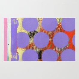 Abstract Mixed Media Compositon V.18 Rug