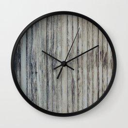 rotten wood texture Wall Clock
