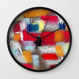 Multicolor grey Wall Clock