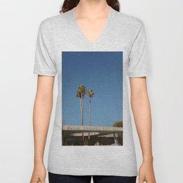 Palm Springs / California Unisex V-Neck