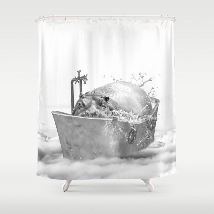 HIPO BATH Shower Curtain