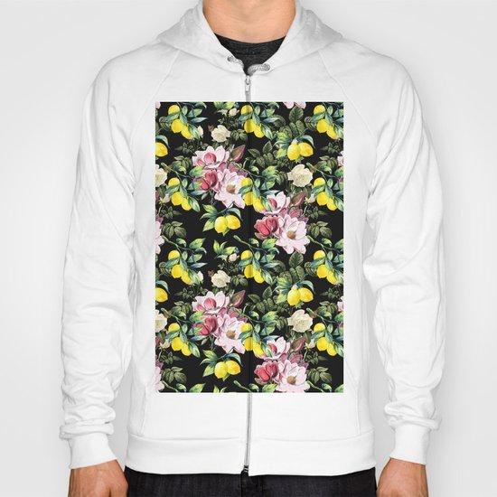 Botanical Pattern Hoody