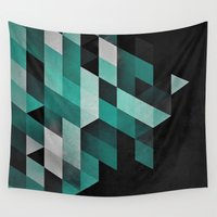 spires Wall Tapestries featuring dryma mynt by Spires