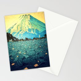 Waddling through Kennijo Lake Stationery Cards