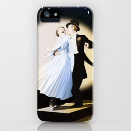 Fred and Ginger iPhone Case