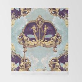 Floral Extravagance Throw Blanket