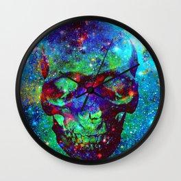 Star Skull  Wall Clock