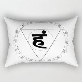 Vishuddha or Vishuddhi Rectangular Pillow