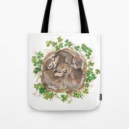 Bunny Nest Tote Bag