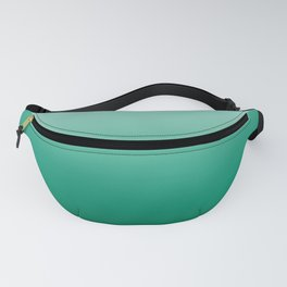 Ombre Teal Green Gradient Pattern Fanny Pack