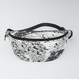 graphic mosaic Fanny Pack