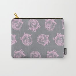 Royal Gator - Rose on Ash Carry-All Pouch