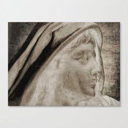 Lady Angel Celestial Woman Spiritual Art A145 Canvas Print