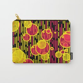Bubbles and lines Carry-All Pouch