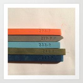 Chosen Colors Art Print