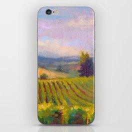 Fruit of the Vine Oregon Vineyard iPhone Skin