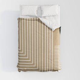 Lines & Circles Comforters