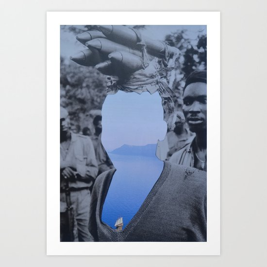 Outflow Art Print