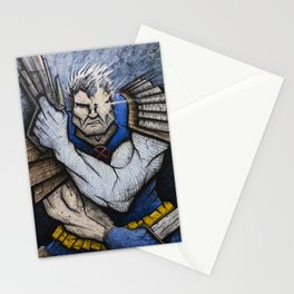 Cable of the New Mutants Stationery Cards