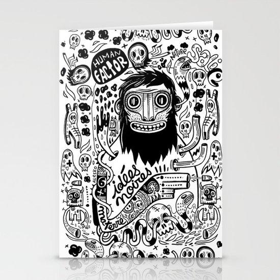 Idées noires Stationery Cards