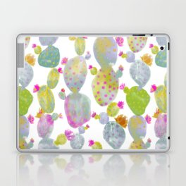 Blooming Spring Cacti Laptop & iPad Skin
