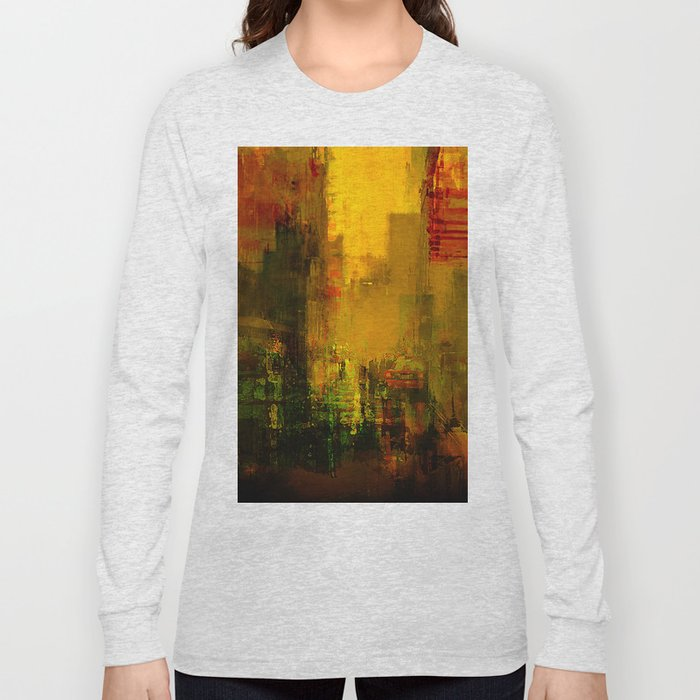 Yellow City Long Sleeve T-shirt