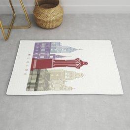 Huelva skyline poster Rug