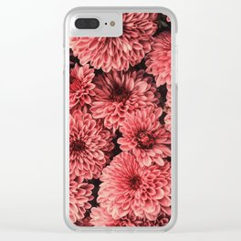 Z is for Zinnias Clear iPhone Case