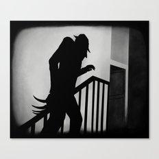 Nightmare in German Film Canvas Print