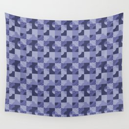 Purple Ninety Wall Tapestry
