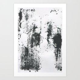 Black/white Art Print
