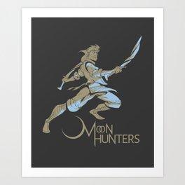 Moonblade Print Art Print