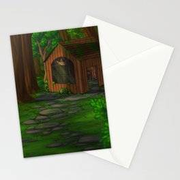 The Witch's House Stationery Cards