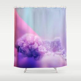 unicorn clouds Shower Curtain