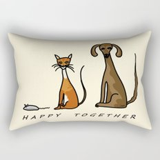Happy Together - Domestic Rectangular Pillow