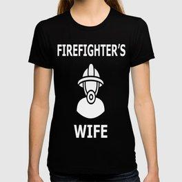 Firefighteer_s wife T-shirt