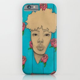 Wallpaper Girl iPhone Case