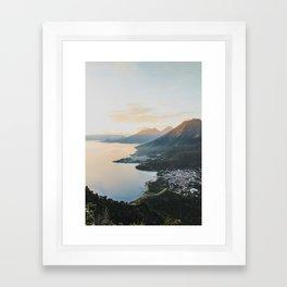 Lake Atitlán II, Guatemala Framed Art Print
