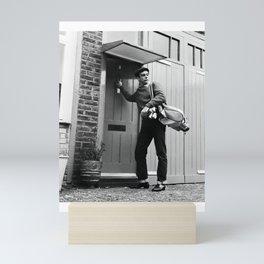 Sean Connery - SIR THOMAS S6 - Society6 Legendary Scottish Actor Producer Hollywood OO7 B5 Mini Art Print